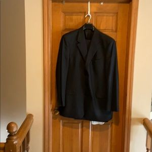 Other - Black suit with pants 100%wool